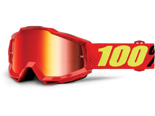 100% Accuri Anti Fog Mirror Goggles saarinen